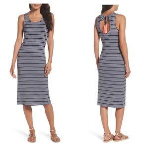 Lilly Pulitzer Jordyn Navy Striped Dress Tassels